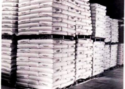 20 talc stored for shipment 1960