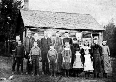 Swamp Road School, 1890