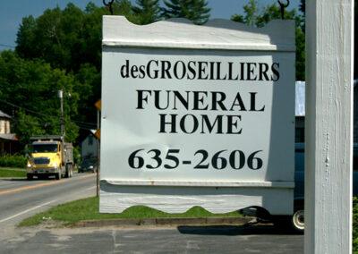 desGroseilliers Funeral Home -