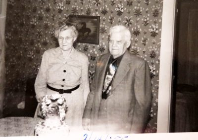 Eunice and Forrest Mudgett