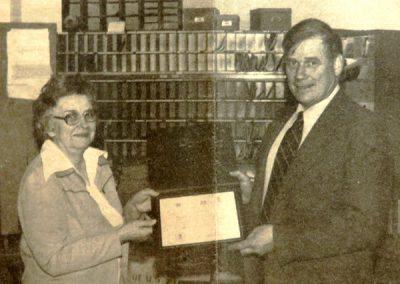 Nan Sinclair and Rod Corrigan