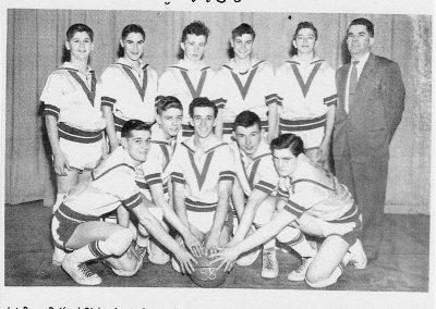 BOYS BASKETBALL 1958