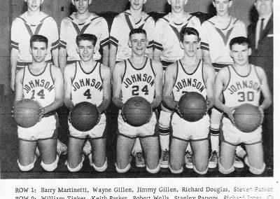 BOYS BASKETBALL 1963