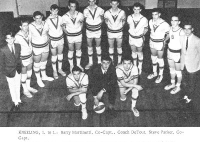 BOYS BASKETBALL 1964