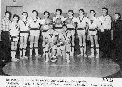 BOYS BASKETBALL 1965