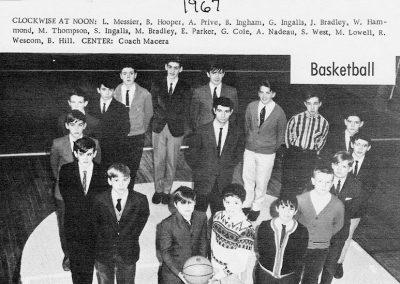 BOYS BASKETBALL 1967