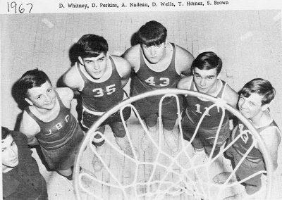BOYS BASKETBALL 4 1967