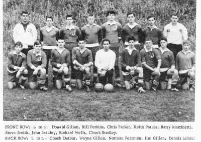 BOYS SOCCER 1965