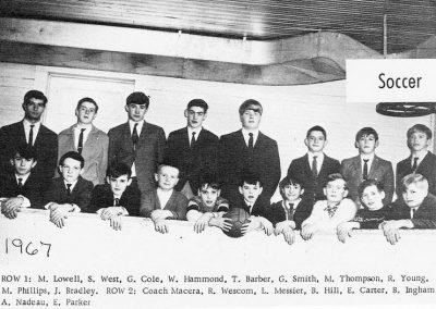 BOYS SOCCER 1967