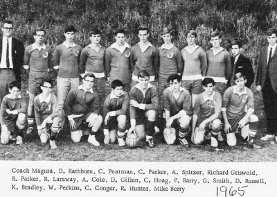BOYS SOCCER 2 1965