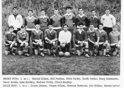 BOYS SOCCER 3 1965