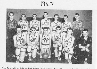 BOYS VARSITY BASKETBALL 1960