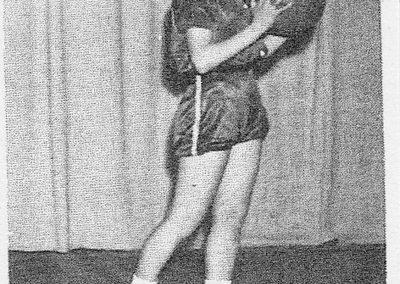CAROL WEST 1957