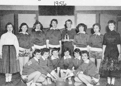 GIRLS BASKETBALL 1956