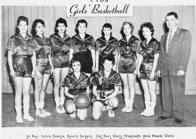 GIRLS BASKETBALL 1958