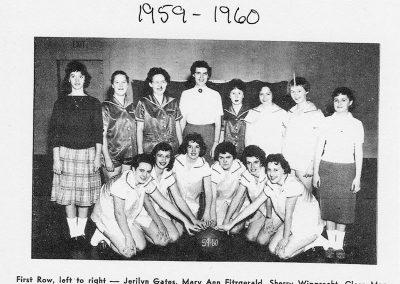 GIRLS BASKETBALL 1959-1960