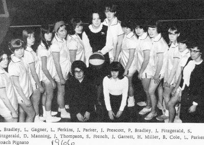 GIRLS BASKETBALL 1966