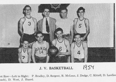 JV BASKETBALL 1954